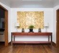 Eveson Jarrah and stainless steel Hall console 2