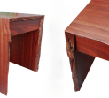 Jarrah Natural Edge writing Desk