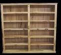 Marri Double Bookcase